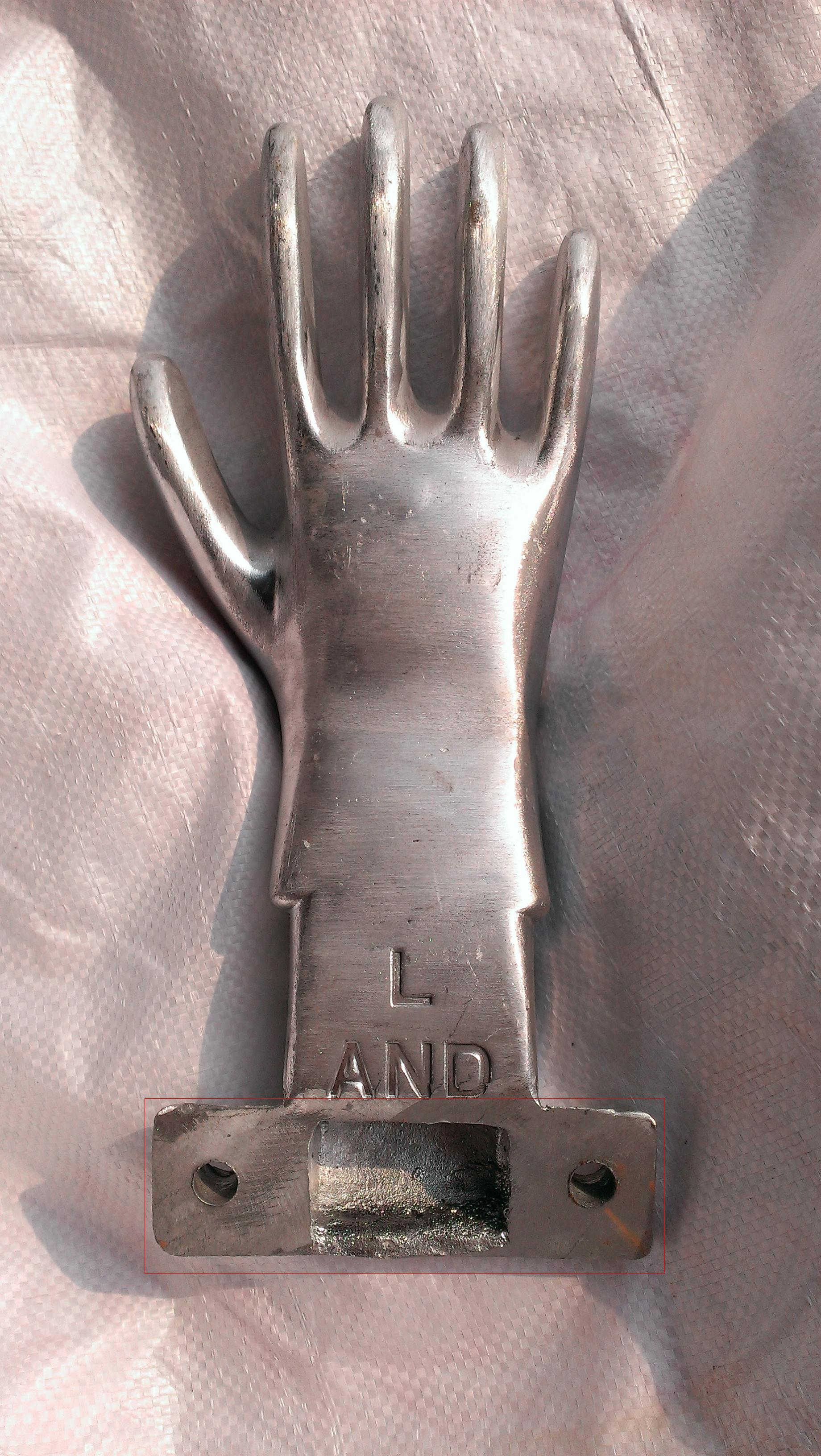 glove mould for Nitrile/Latex dipping gloves