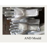 PVC glove mould for knitted gloves,knit wrist work gloves with quality